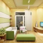 Phòng khách tại sao phải phối hợp gam màu?